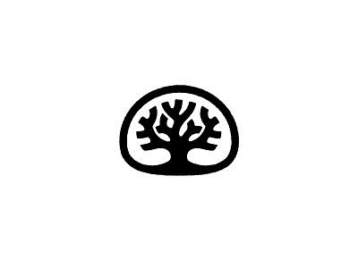 Oakland oakland tree logo mark icon