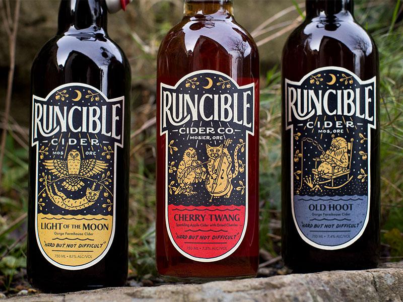 Runcible dribbble