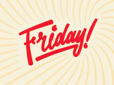 Friday lettering art friday typogaphy type hand drawn brush script hand lettering handlettering lettering
