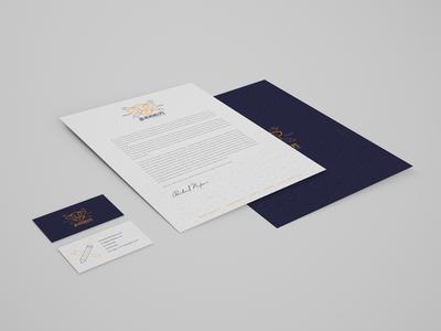 Stationery Blacksheepz Creative Studio cards business white stationery logo corporate branding identity brand