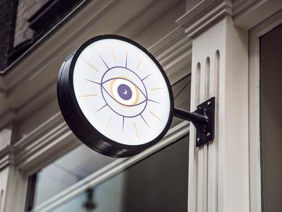 Esoteric Boutique brand identity moon sun eye branding esoteric