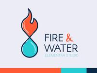 Fire & Water - Logo / Brand Design