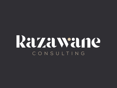 Razawane - branding logo visual identity luxury luxurious branding