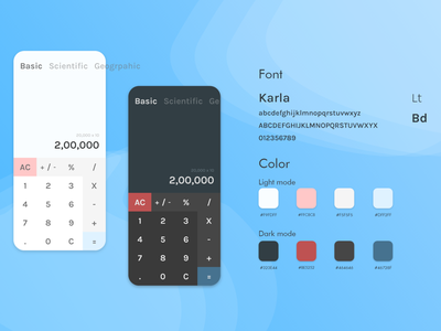 Calculator UI dailyui logo illustration design minimal uxdesign ux uidesign conceptdesign adobexd