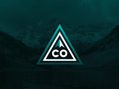 Colorado State Identity sketch illustrator colorado branding vector logo