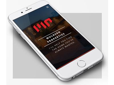 Mulhern Properties / Responsive Website + Brand branding vector design css html5 ui ux