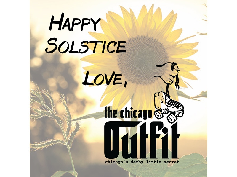Chicago Outfit Solstice Social Media typography photography graphics social media