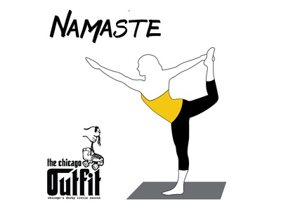 Chicago Outfit Yoga Social Media