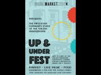 Up & Under Fest poster