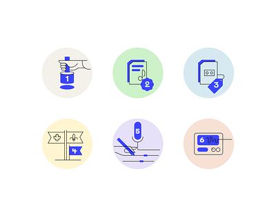 Meta Musique steps metadata meta indexation music outline icon minimal icon web ui vector illustration branding icon set icon design iconography icon