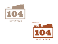 The 104 Initiative - logo concepts