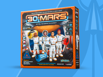 30 to Mars Board Game