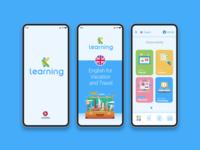 K-Learning App UX & UI
