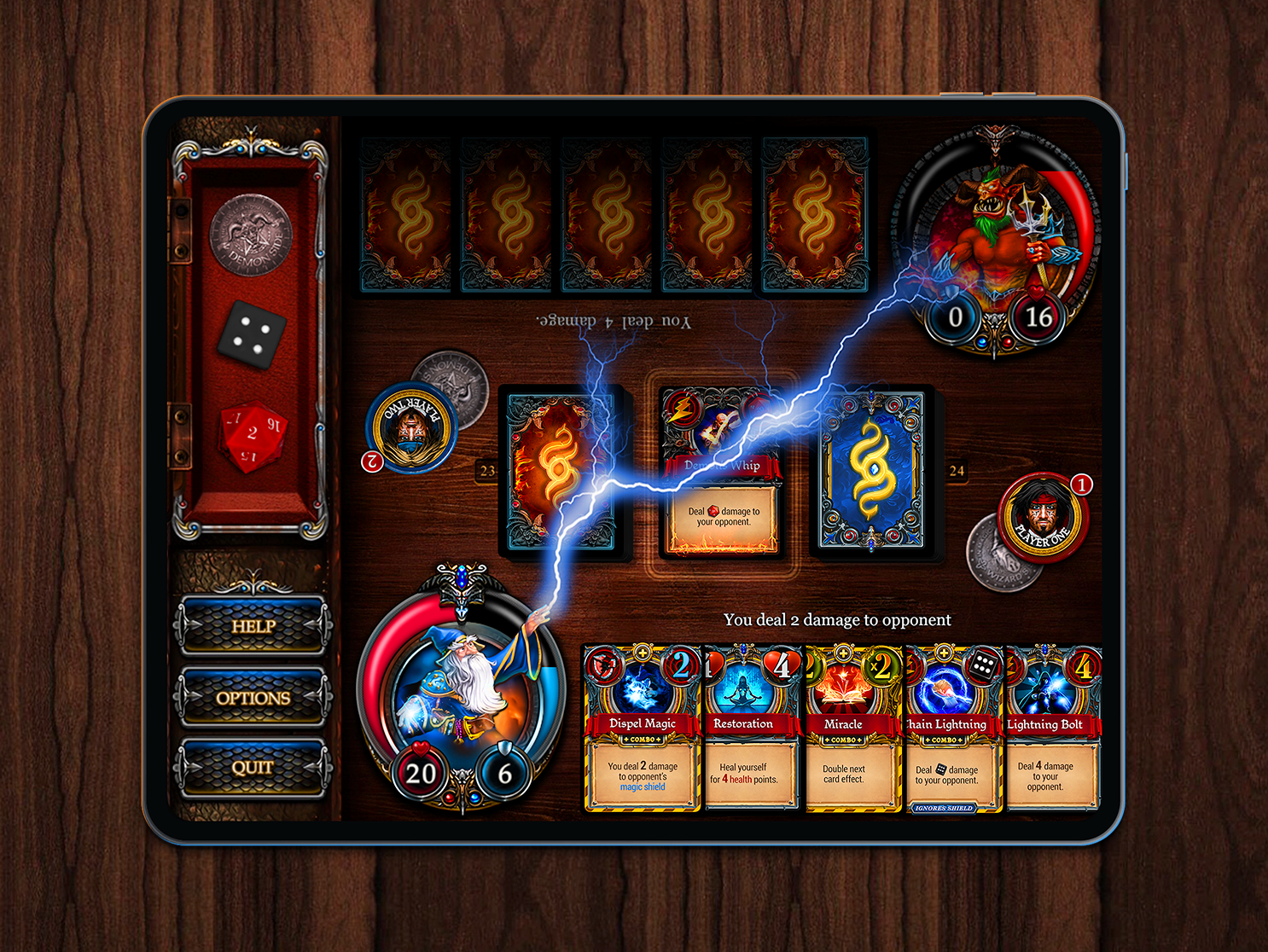 Demons Vs  Wizards UX / UI by Dennis Kostroman on Dribbble