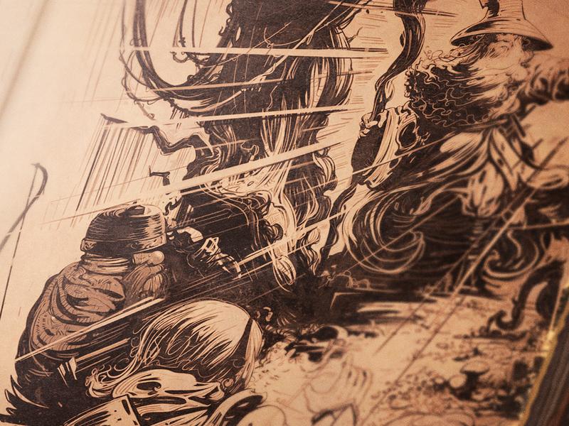 Blind Guardian - Remaster lord of the rings artwork blindguardian dwarves elf hobbit gandalf tolkien art fantasy lotr