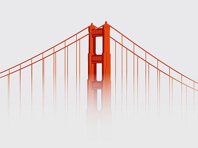 Golden Gate in the fog golden gate fog san francisco california first shot debut freebie