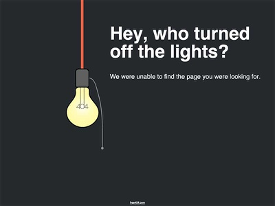 Free 404 Pages 404 error page free open-source light