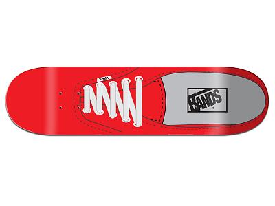 Bands Vans Parody deck for DEF skateboard design vector art muckmouth graphic design skateboard graphics skateboard