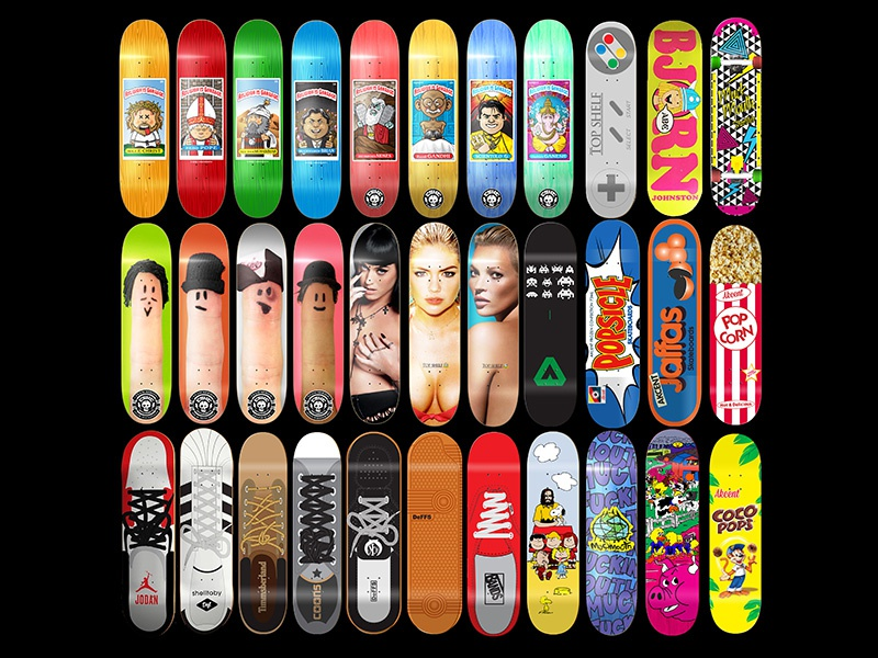 Skateboard graphic design update by leighton j dyer dribbble for Hashicorp careers
