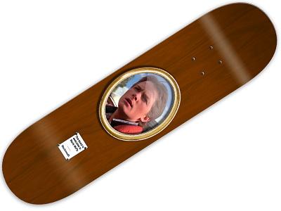 Marty McFly Muckmouth Pro Model skateboard design skateboard graphics art direction graphic design marty mcfly back to the future muckmouth