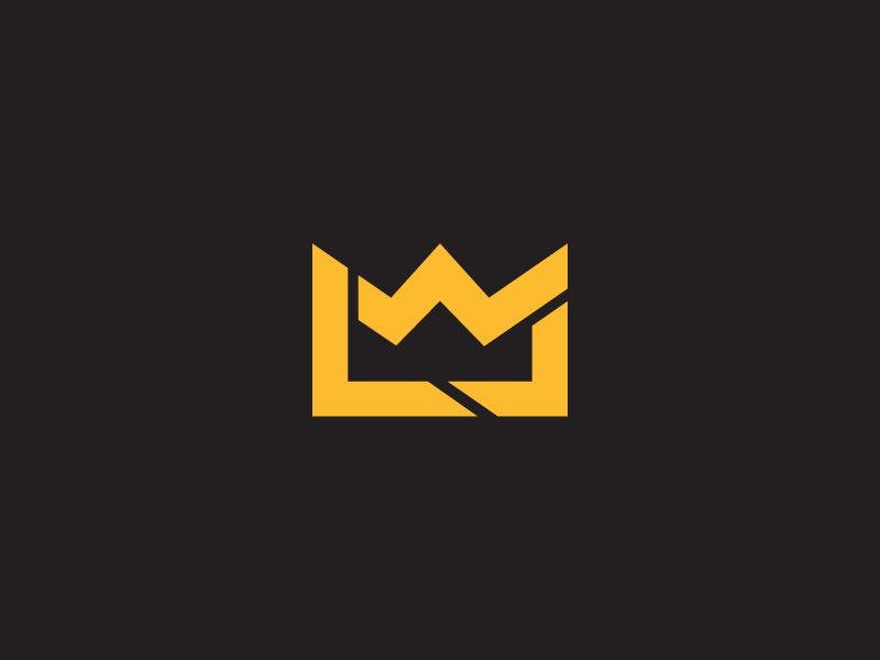 lebron james logo by evan miles dribbble