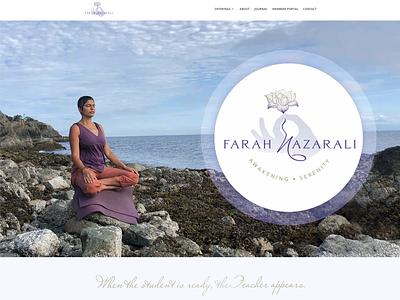 Farah Nazarali WellBranding Project logo logo design graphic design wellbranding website web designer web design brand colors branding brand identity brand design brand creation brand concept