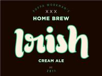 Home brew label 3