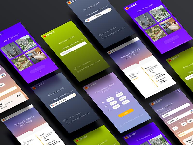 Kodakit Mobile Web web mobile ux ui