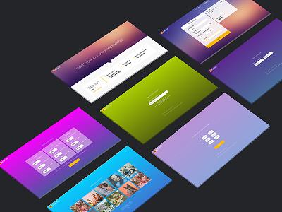 Kodakit Desktop Web web desktop ux ui