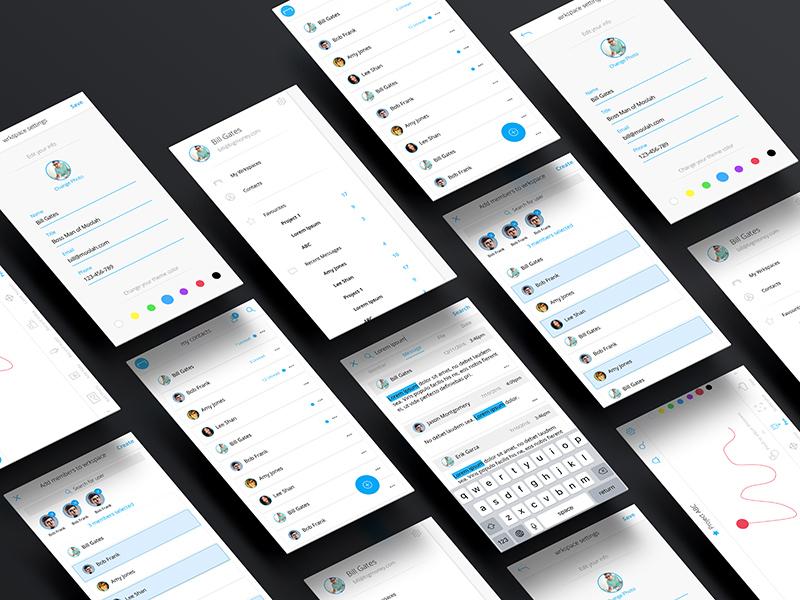wrkbench ios web mobile ux ui