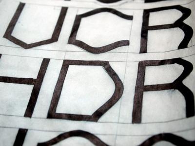Arch-face type typeface arch arc geometric font
