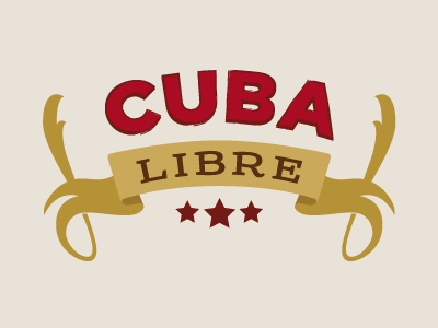 Cuba Libre cuba libre cocktail rum happy hour friday weekend summer warm lime revolution havana ribbon