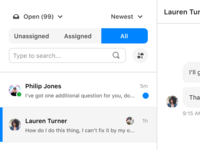 Inbox conversations