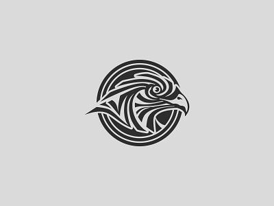 Eagle Head Logo icon branding design vector logo illustration