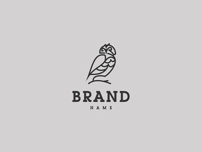 Owl Logo branding design vector logo illustration