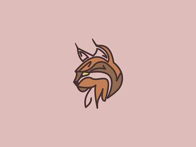 Lynx Logo icon branding design vector logo illustration