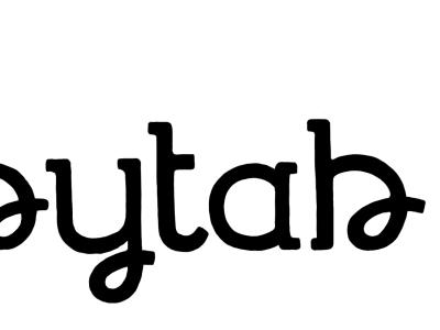 [wip] slab tab lettering hand drawn logo