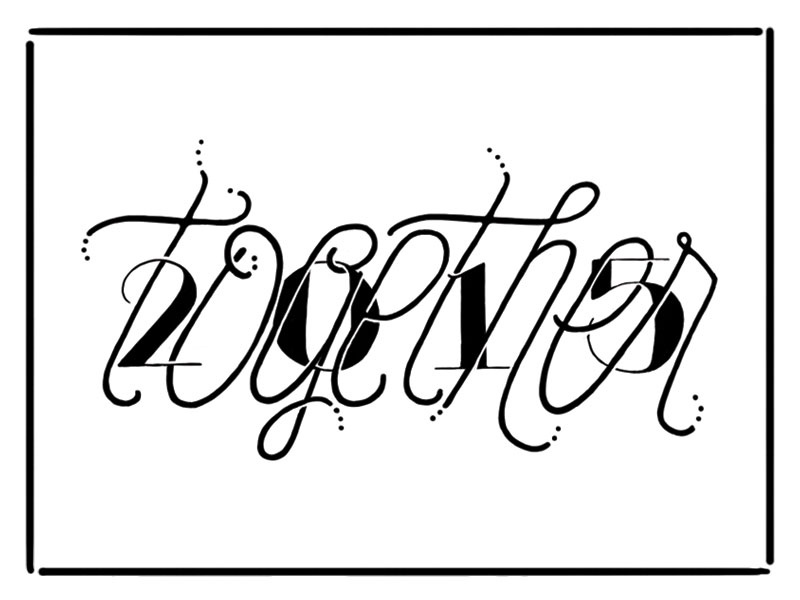 2015 hand lettering lettering illustration hand drawn
