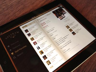 Wine App for iPad