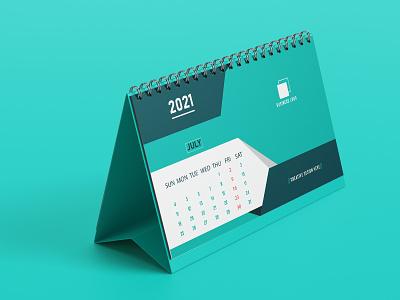 Desk calendar design high resolution