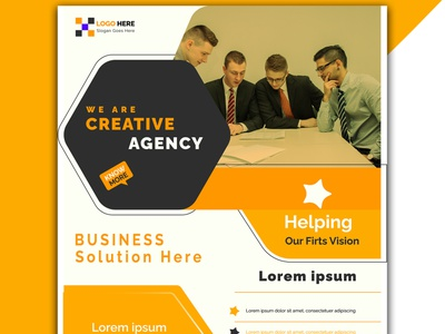 creative corporate agency flyer design template contemporary single page poster poster cover flyer template flyer design flyer
