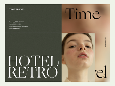 Hotel Retro 01 editorial layout editorial design retro vintage fashion lookbook digital lookbook lookbook editorial keynote template presentation slide layout