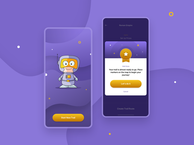 iOS Game Design graphic design design mobile ux ui achievement character design illustration vector ios game ios game app design app