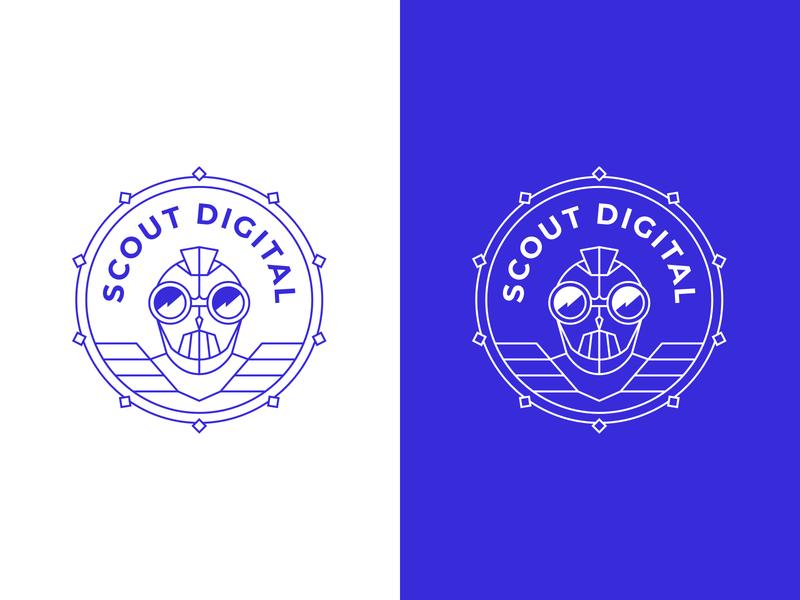 SD Logo Proposal lines character design symbol emblem branding brand logo