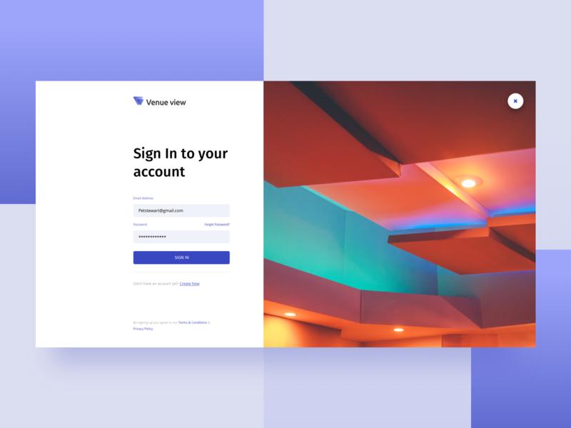 Login Page design gradient web design ux ui sign up register sign in login