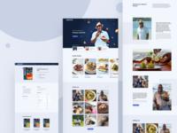 Celebrity Chef Website