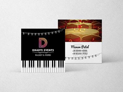 Square Business card brnading visiting card design logo printing packagedesign illustration india gujarat graphicdesign business card design branding design