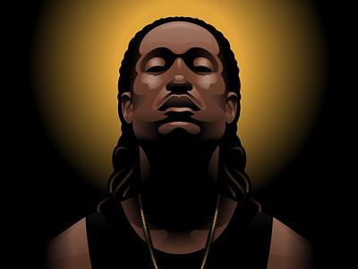 Digital Illustration man gradient shading person digital illustration digitial illustrator illustration
