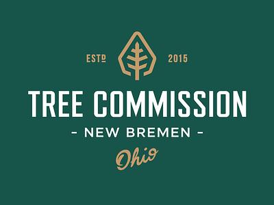 Tree Commission Logo symbol icon logo landscaping limbs ohio commission tree