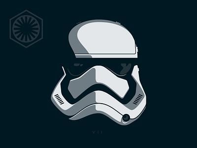 Trooper episode vii empire illustration star wars storm trooper